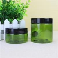 Buy cheap Clip Cap Cream PET Plastic Jars , 16g/ 25g Small Plastic Jars With Lids from wholesalers