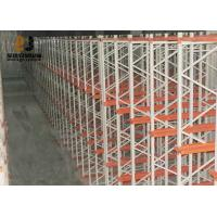 Buy cheap Cold Rolled Steel Powder Coating Customzied Size Pallet Flow Rack from wholesalers
