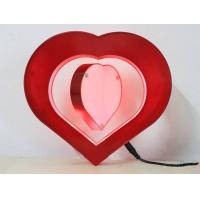 Buy cheap Heart shaped magnetic floating photo frame, picture frame from wholesalers