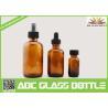 Buy cheap 4oz 2oz 1oz 1/2oz 120ml 60 ml 30ml 15ml Amber Boston Round Glass Bottle For from wholesalers