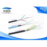 Buy cheap Hybrid Copper Fiber Optic Network Cable With Black TPU LSZH Jacket Customized from wholesalers