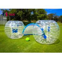 Buy cheap Customize Inflatable Zorb Ball / Bubble Football Bumper Human Hamster Ball OEM Accepted from wholesalers