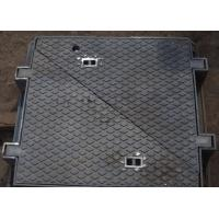 Buy cheap Casting D400 Ductile Iron Manhole Cover En124 and Frame from wholesalers