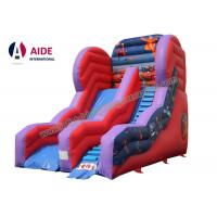 Buy cheap Inflatable Slide For Pool Inflatable Sports Equipment Rainbow PVC Customized from wholesalers