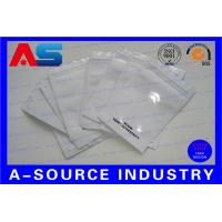 Buy cheap Fine Aluminum Foil Bags / Pouch Zip - Lock For Pharmaceutical Steroid Oral Pills from wholesalers