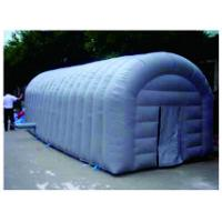 Buy cheap Blue Simulation Inflatable Party Tent  ,  PVC Tarpaulin Large Picnic Tent from wholesalers