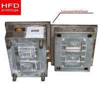 Buy cheap 500000 Shots Steel Hardness 20HRC 60HRC Plastic Injection Mold from wholesalers