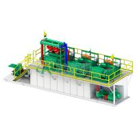 Buy cheap API Standard 200 GPM Drilling Mud Treatment And Disposal System with 4 Hydrocyclones from wholesalers