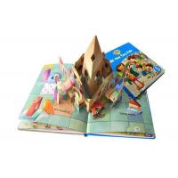 Buy cheap Custom Pop Up 3d  Children Books Printing Service Activity Kid Photo Book Printed from wholesalers