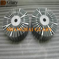 Buy cheap GLR-HS-269 171mm round aluminum extrusion heatsink, 6.732 led cooler from wholesalers