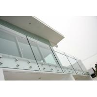 Buy cheap Infinity Glass Railing 12mm , Decking Glass Panel Railings BS6206 from wholesalers