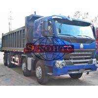 Buy cheap 12 Wheelers 4 Axle Dump Truck , LHD RHD HOWO A7 Strengthened 8x4 Tipper Truck from wholesalers