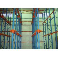 Buy cheap Custom Q345 Steel Drive In Pallet Racking , Cold Heavy Duty Racks For Warehouse from wholesalers