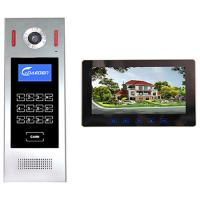 Buy cheap 4 +2 wires 10 inch Building Video Door Phone intercom system smart home system video intercom from wholesalers