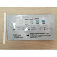 Buy cheap Highly Sensitive One Step Drug Screen Test Card / Strip For Saliva Alcohol from wholesalers