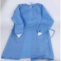 Buy cheap Blue One Piece Hospital Isolation Gown Good Toughness High Durability Not Easy Aging product
