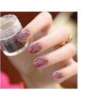 Buy cheap Pretty Pearls 3D Caviar Nail Art Colorful Artificial Nail Tips For Salon from wholesalers