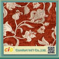 Buy cheap Customized Vintage Sofa Upholstery Fabric , Polyester Acrylic Chenille Fabrics product