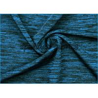 Buy cheap Cotton Touch Yarn Space Dyed Jersey Knit Fabric Plain For Sports from wholesalers