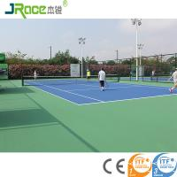 Buy cheap Tennis Court Surface Outdoor Sporting Flooring For School With Customized Color from wholesalers