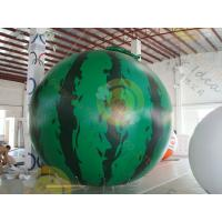 customized Inflatable helium fruit product balloon,  including 4m Watermelon / cherry / apple for sales promotion