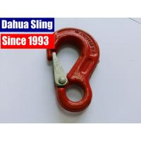 Buy cheap Red 8mm Ratchet Strap Hooks , Tow Strap Hook CE GS Approved from wholesalers