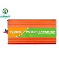 Buy cheap Compact High Frequency Pure Sine Wave Inverter With Dual AC Outlets And One USB Port from wholesalers