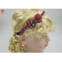 Buy cheap Cute Small Plastic Bow Hair Bands For Children , Pretty Hairband from wholesalers
