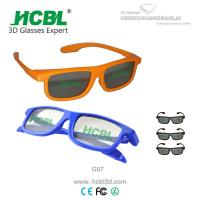 Buy cheap Foldable Films Linear Polarized 3D Glasses Blue Real D 3D Glasses from wholesalers