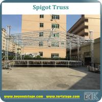 Buy cheap 13x13x9m truss system/spigot aluminum stage dome truss for concert/movable truss system for sale/truss factory from wholesalers