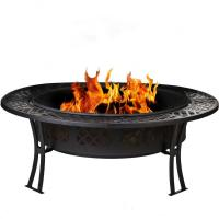 Buy cheap Custom 5 Inch Wide Stocked Outdoor Fire Pit With Screen / Cover from wholesalers