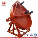 Buy cheap 2-6mm Granules Organic Fertilizer Disc Pelletizer / Wet Way Pan Granulator Machine from wholesalers