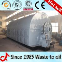 Buy cheap The fully automatic waste tire recycling oil pyrolysis plant for Bangladesh from wholesalers
