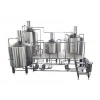 Buy cheap Electric Brewing 30BBL Large Brewing Equipment Mirror Polishing 316 Stainless Steel from wholesalers