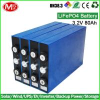 China Rechargeable Li Ion Small Deep Cycle Battery Cells , Backup Solar Power Deep Cycle Battery on sale