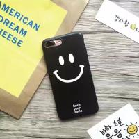 Buy cheap Soft TPU IMD Smiling Face Black Edge Scrub Cell Phone Case Cover For iPhone 7 6s Plus from wholesalers