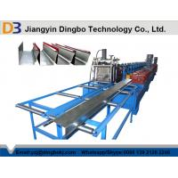 Buy cheap Aluminium Rainwater Gutter Roll Forming Machine Professional Full Automatic from wholesalers