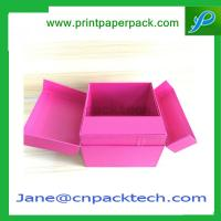 Buy cheap Custom Printed Set-Up Boxes Rigid Cardboard Packaging  Foldable Box Paper Box from wholesalers