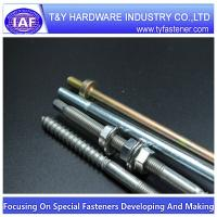 Stainless steel rod hollow threaded