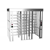Buy cheap 304 Stainless Steel Full Height Turnstiles Access Control Turnstile Automatic from wholesalers