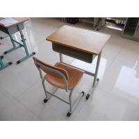 Buy cheap single students desk and chair  ,student chair ,school chairs for sale,desk for study from wholesalers