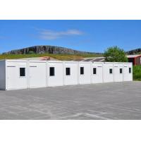 Buy cheap Tourist Attraction Prefab Shipping Container Office Removable Steel Cold - Formed Pillar from wholesalers