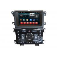 Buy cheap Wifi SWC RDS Car GPS Ford 2014 Edge Navigation 1024 x 600 Rearview Camera Android DVD Player from wholesalers