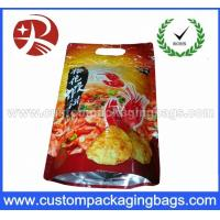 Buy cheap Custom Foil Reclosable Plastic Food Packaging Zipper Bag With Stand Up from wholesalers