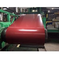 Buy cheap Cold Rolled PPGI Steel Coil RAL Color Coated 0.20mm - 1.2MM Thickness Structural Grade for Sandwich panel from wholesalers