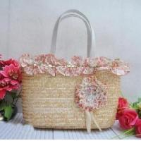 Buy cheap Designer Wheat Straw Handbags T826 from wholesalers
