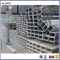 Buy cheap galvanized rectanglar steel tubes zinc coating a53 gi pipe from wholesalers