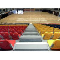 Buy cheap Economic Telescopic Tribunes / Retractable Theater Seating With Nose Mounting Polymer from wholesalers