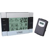 Buy cheap DH-3346B wireless digital thermometers RF 433HMZ , indoor comfort lever display product