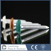 Buy cheap Annular Ring Shank Plastic Head Nails Stainless Steel A2 Grade 50mm from wholesalers